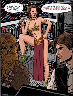 Hahaha! Star Wars humor