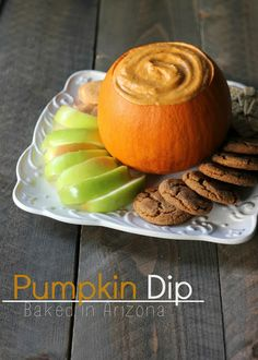 Baked in Arizona: Pumpkin Dip