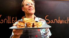 Alton Brown's 'grilled grilled cheese' sandwich will blow your mind
