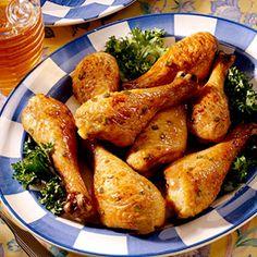 honey-glazed chicken