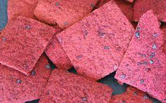 Grain Free Beet Crackers