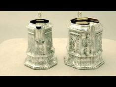 Video ... Sterling Silver Four Piece Tea and Coffee Service - Antique Victorian - AC Silver (W6681)