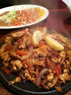 Chicken Fajitas (for two) from Los Arcos, Nashville