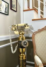 Old rotary phone in our House of the Week. It's a Tudor revival style in Syracuse preservation district.