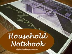 The Household Notebook