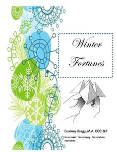 Winter Fortunes - Speech Therapy