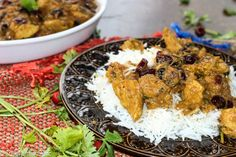 Cranberry Curry Chicken