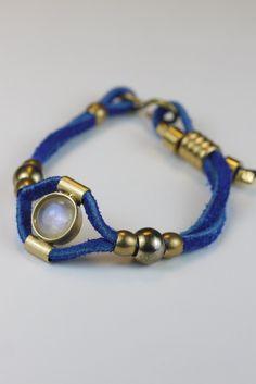 Echo Moonstone Bracelet- love