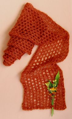 Mohair Lace Scarf - the purl bee