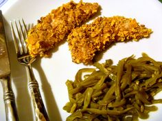 Slice of Southern: Pecan Chicken Strips