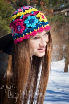 Free Crochet Pattern: Death To Winter Hat