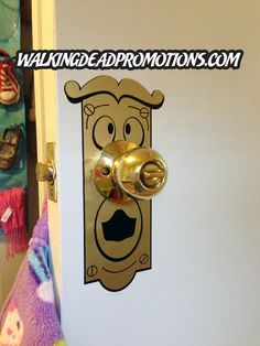 You unlock this door with the key to imagination. $12.99, via Etsy, yes please!