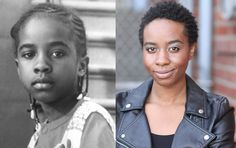 Zelda Harris - lead actress Troy from Crooklyn (then and now) - Princeton Graduate class of 2007