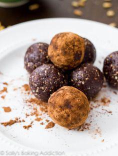 Chocolate Truffle Energy Bites. - Sallys Baking Addiction