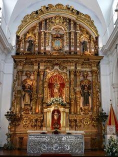 Altar de la Basílica de Nuestra Señora del Pilar, Recoleta, Buenos Aires, Argentina.