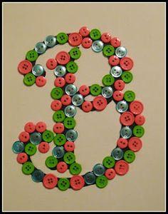 button monogram, button everywher, button initi, art, craft idea, button craft, craft fair, buttons, monograms
