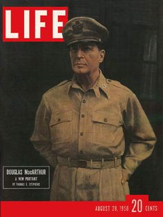 c. 1950 - General Douglas MacArthur