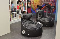 Gaming chairs for young adult users at Gateshead library