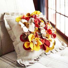 Flowered Pillows