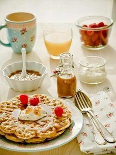 Desayuno sano y natural