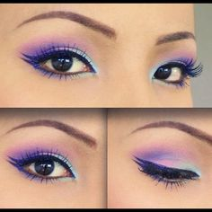 Maquillaje ojos achinados