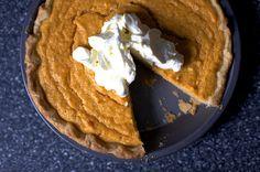 sweet potato buttermilk pie by smitten kitchen