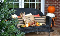 fall porches | Fall Porch Decorating Ideas - SNAP!