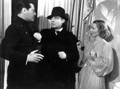 Ivan Lebedeff, Charles Boyer, & Jean Arthur in History is Made at Night (1937)