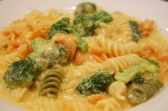 Mac and Cheddar with Broccoli. My kids always want mac n cheese with broccoli, this avoids all the preservatives.