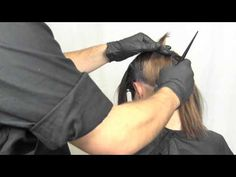 Gregory Alan performs Hair Color Technique: Transform your Brunette to Red - Model: Tara.  I LOVE THIS!!!!!!!!!
