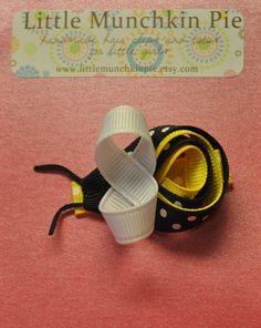 Bee hair clip