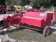 Massey Ferguson 124 hay equipment salvaged for used parts. Millions of new, rebuilt and used parts in our 7 huge salvage yards. For parts call 877-530-4430 or http://www.TractorPartsASAP.com