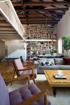 Mid Century Inspired Living Area