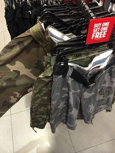 Buy One Get One Free Camo Shorts at Footlocker