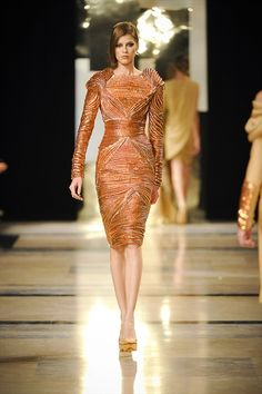 every redhead should own this dress  Stéphane Rolland Haute Couture Spring Summer 2011