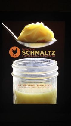 So what is Schmaltz? Find out in this video from Michael Ruhlman, then win his iPad app from our Passover contest!