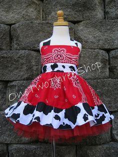 Custom Boutique Clothing  Western Girl  Cow Jumper  by amacim, $59.99