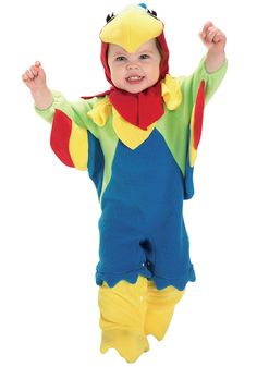 Toddler Parrot Costume - Maybe for Sam to coordinate with Jackson the pirate :-)