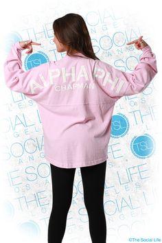 Spirit Jersey #AlphaPhi #APhi #SpiritJersey #sorority #TSL #theSocialLife