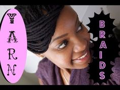 ✿ 125 ✿ How To Yarn Braid/Genie Loc: I absolutely LOVE the way this youtube instructional vidoe (i.e. TUT, short for tutorial) was produced. 125, au natural, yarn braids styles, natur haircar, loc braid, yarn braidgeni, braidgeni loc, beauti, genie locs