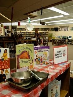 Read Something Delicious - food books!  Oh, I could do this any time of year!