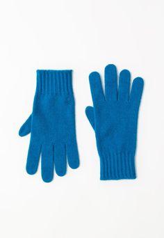 United Colors Of Benetton Manusi tricotate albastre