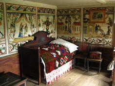 Old farmer's house in Skansen