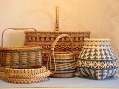 Baskets, baskets, and more baskets! basket case, baskets, weav