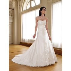Find modern long church bridal wedding Dress only $157.95