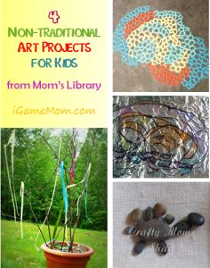 Foster creativity with these non-traditional art projects - check out these 4 creative art activities you had never thought before #LearnActivities