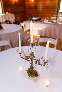 Candlesticks | North Carolina Wedding | Chad Winstead Photo + Video