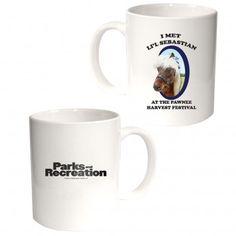 Parks and Recreation Li'l Sebastian Mug