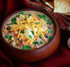 This recipe for Rich and Creamy Chicken Tortilla Soup will warm you up from the inside-out with deliciousness. If you are looking for a soup recipe to bring to a party or to serve to guests, this creamy tortilla soup recipe is a must-make.