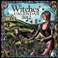 calendar annual, 1399, witch librari, 2012 witch, book choicecalendar, llewellyn public, llewellyn 2012